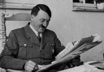 Adolf Hitler Reading
