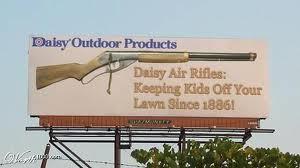 Daisy Air Rifle Poster