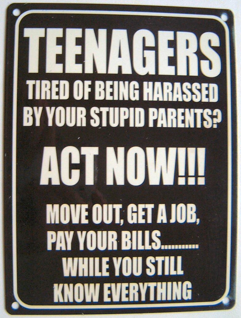 Teenagers Act Now!
