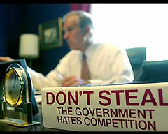 Don't Steel - the government hates competition